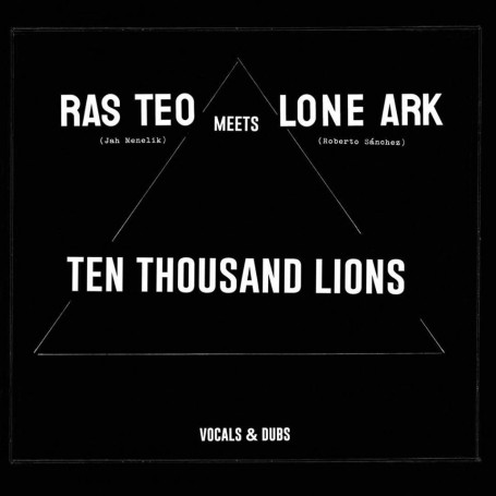 (2xLP) RAS TEO MEETS LONE ARK - TEN THOUSAND LIONS