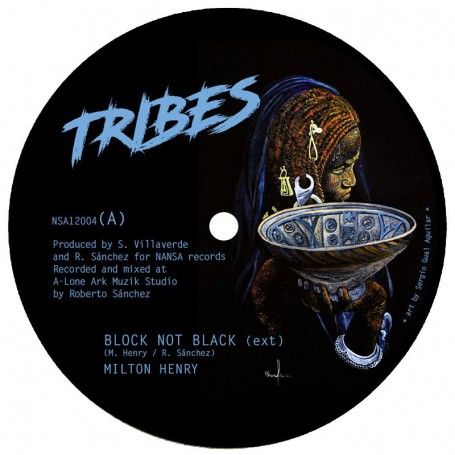 "(12"") MILTON HENRY - BLOCK NOT BLACK / SHANTI YALAH - HEALIN / REUBEN TELFORD - ZARCEA"