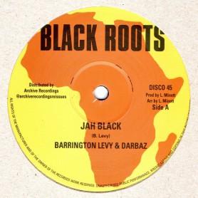 "(12"") BARRINGTON LEVY & DARBAZ - JAH BLACK / ROBERT EMMANUEL - LEAVE NATTY BUSINESS"