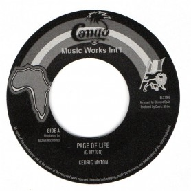 "(7"") CEDRIC MYTON - PAGE OF LIFE / SOUND DIMENSION - PAGE OF LIFE VERSION"