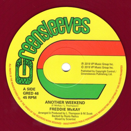 "(12"") FREDDIE McKAY - ANOTHER WEEKEND / EARL 16 - LIVE TOGETHER"