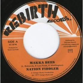 """(7"""") MAKKA BEES - NATION FIDDLER / FIRE"""