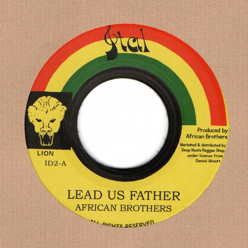 "(7"") AFRICAN BROTHERS - LEAD US FATHER / VERSION"