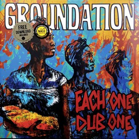 (2xLP) GROUNDATION - EACH ONE DUB ONE