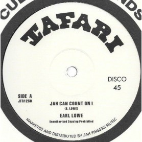 "(12"") EARL LOWE - JAH CAN COUNT ON I / DUBWISE"