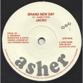 "(7"") JACKO - BRAND NEW DAY / BRAND NEW VERSION"