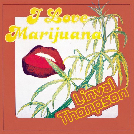 (LP) LINVAL THOMPSON - I LOVE MARIJUANA