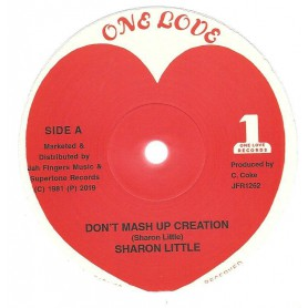 "(12"") SHARON LITTLE - DONT MASH UP CREATION / VERSION"