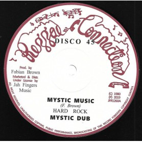 "(12"") HARD ROCK - MYSTIC MUSIC / JAH SEND RAIN"