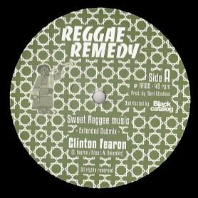 """(12"""") CLINTON FEARON - SWEET REGGAE MUSIC / IN YOUR HEART"""
