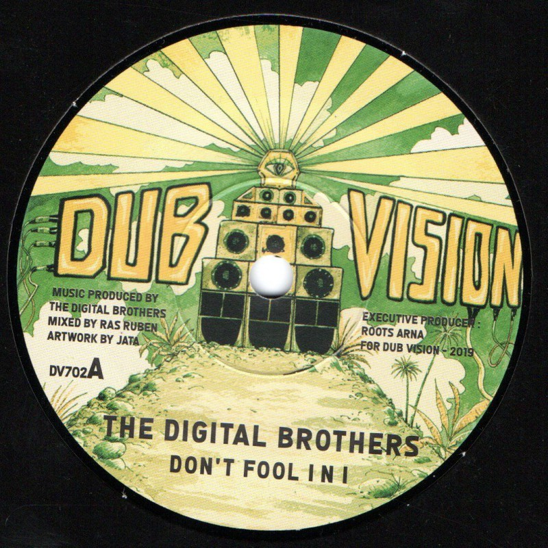 "(7"") THE DIGITAL BROTHERS - DON'T FOOL I AND I / I AND I DUB"