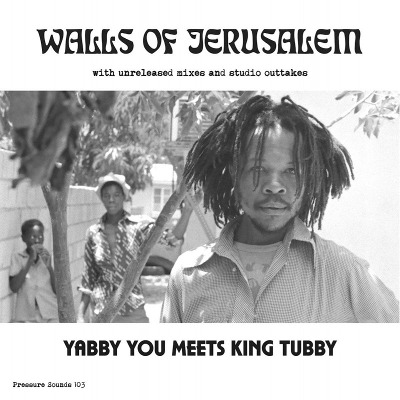 (2xLP) YABBY YOU MEETS KING TUBBY - WALLS OF JERUSALEM