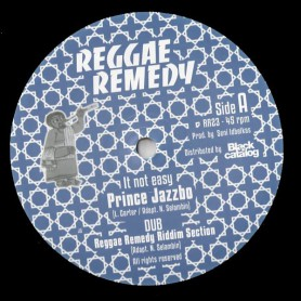 "(12"") PRINCE JAZZBO - IT NOT EASY / MIKE BROOKS - THE SAINTS"