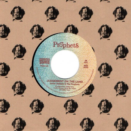 "(7"") VIVIAN JACKSON & THE PROPHETS - JUDGEMENT ON THE LAND / VERSION REPATRIATION ROCK"