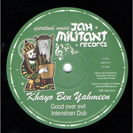 "(12"") KHAYO BEN YAHMEEN - GOOD OVER EVIL / ETHIOPIC VISION"