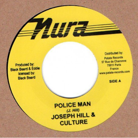 "(7"") JOSEPH HILL & CULTURE - POLICE MAN / SLY & ROBBIE WITH KING KRAFT POSSIE - POLICE MAN DUB"
