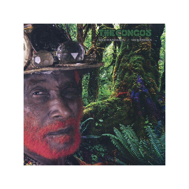 "(12"") THE CONGOS - SOLID FOUNDATION (Extended) / NECKODEEMUS (Extended)"