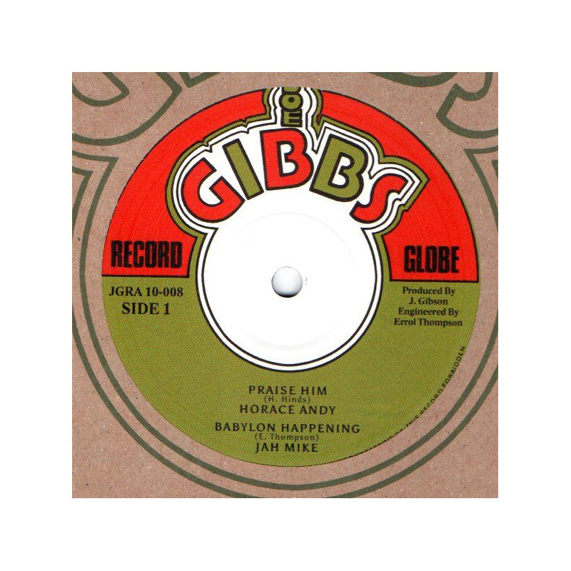 "(10"") HORACE ANDY - PRAISE HIM / THE PROFESSIONALS - DUB TRACK"