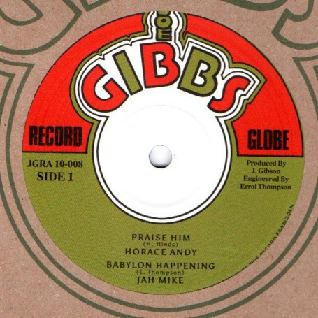 """(10"""") HORACE ANDY - PRAISE HIM / THE PROFESSIONALS - DUB TRACK"""