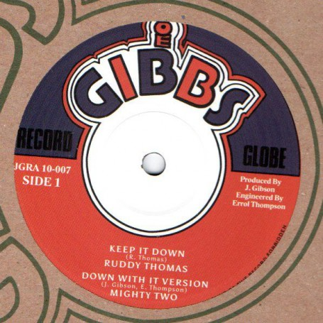 "(10"") RUDDY THOMAS - KEEP IT DOWN / GEORGE NOOKS - THE CREATOR"