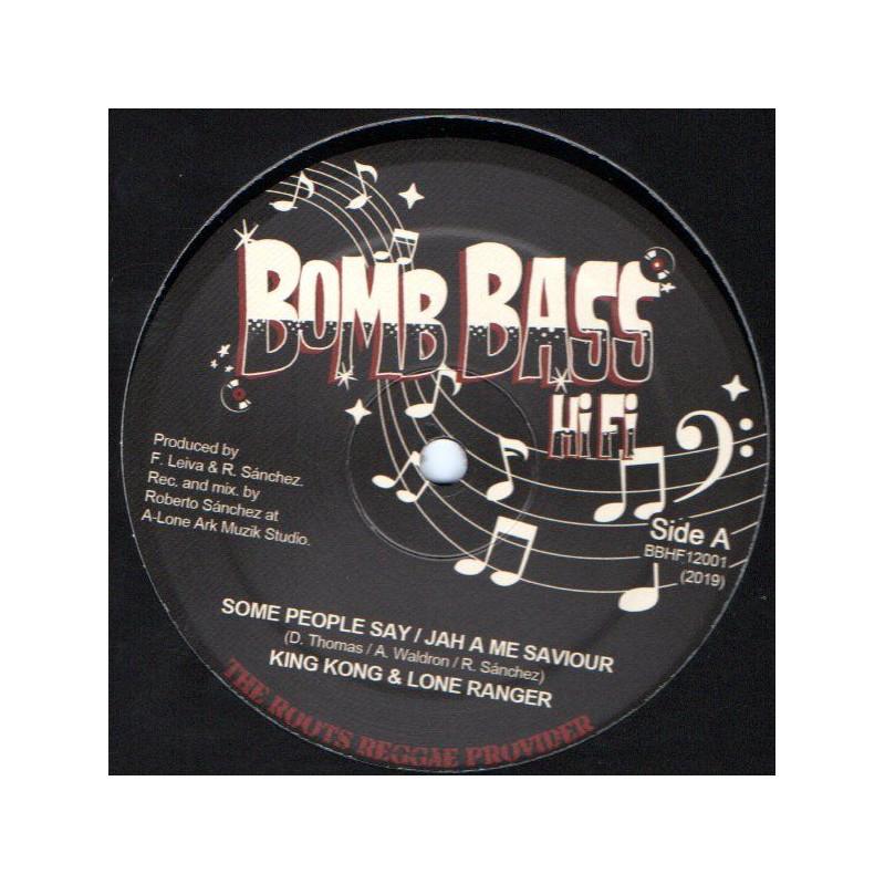 """(12"""") KING KONG - SOME PEOPLE / LONE RANGER - JAH A ME SAVIOUS / LONE ARK RIDDIM"""