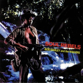 (LP) BOB MARLEY - SOUL REBELS
