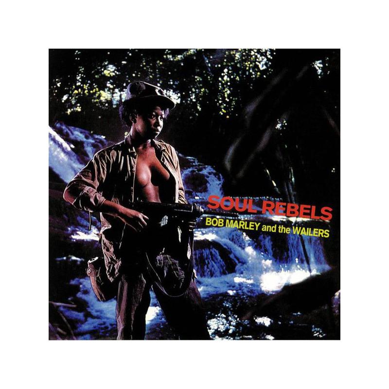 (LP) BOB MARLEY - SOUL REBELS