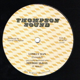 "(12"") FREDDIE MCKAY - LONELY MAN (Extended) / LINVAL THOMPSON - JUMP FOR JOY (Extended)"