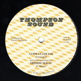 "(12"") FREDDIE MCKAY - GUIDE US JAH JAH (Extended) / AL CAMPBELL - UNFAITHFUL CHILDREN (Extended)"