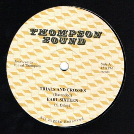 "(12"") EARL SIXTEEN - TRIALS AND CROSSES (Extended) / SAMMY DREAD - FOLLOW FASHION (Extended)"