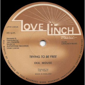 "(12"") EEK A MOUSE - TRYING TO BE FREE / NO WICKED"