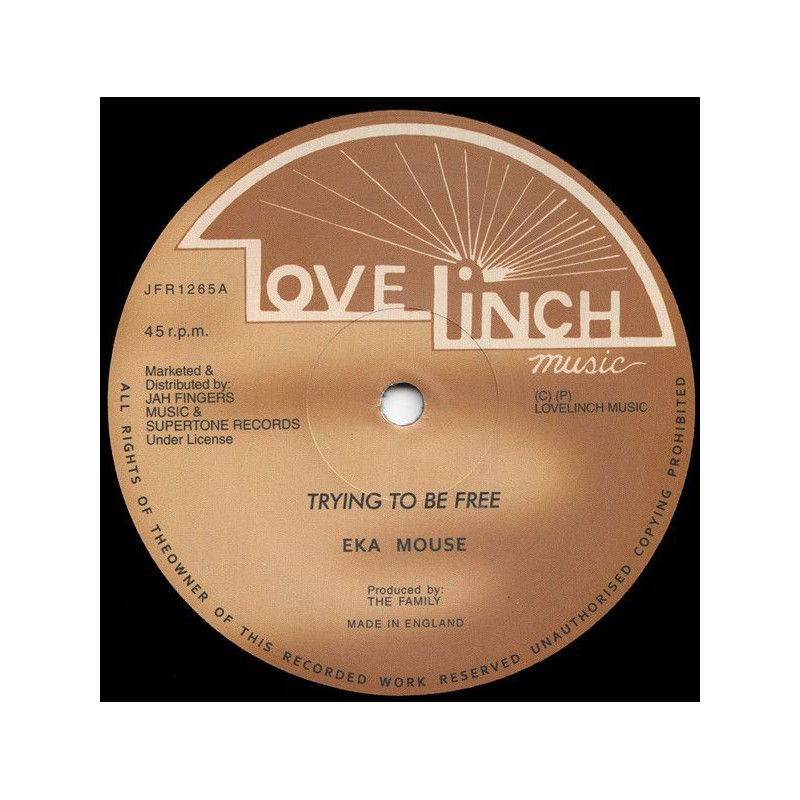 """(12"""") EEK A MOUSE - TRYING TO BE FREE / NO WICKED"""