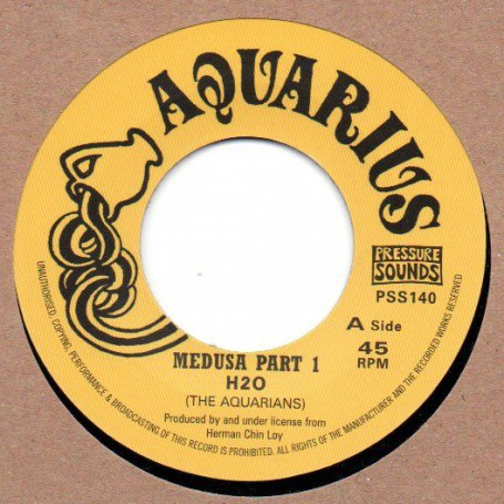 "(7"") H20 (The Aquarians) - MEDUSA PART 1 / MEDUSA PART 2"