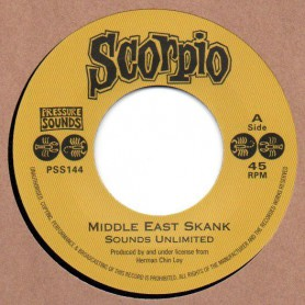 "(7"") SOUNDS UNLIMITED - MIDDLE EAST SKANK / AUGUSTUS PABLO - SONG OF THE EAST"