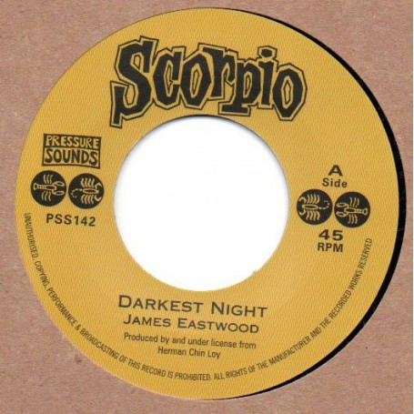 "(7"") JAMES EASTWOOD - DARKEST NIGHT / AUGUSTUS PABLO - THE RED SEA"