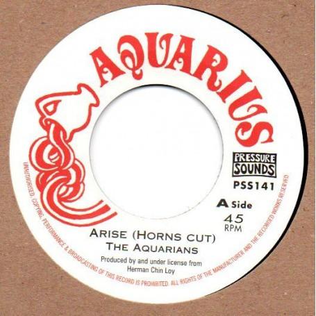 "(7"") THE AQUARIANS - ARISE (Horns Cut) / ARISE PART 2"