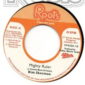 "(7"") BIM SHERMAN - MIGHTY RULER / THE REVOLUTIONARIES - JAH MAN DUB STYLE"