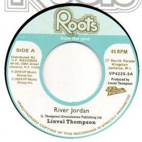 """(7"""") LINVAL THOMPSON - RIVER JORDAN / VERSION"""