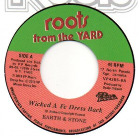 "(7"") EARTH & STONE - WICKED A FE DRESS BACK / THE REVOLUTIONARIES - WICKED A FE DRESS BACK (Version)"