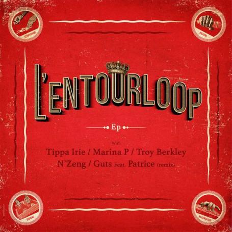 "(12"") L'ENTOURLOOP - EP with Tippa Irrie, Marina P, Troy Berkley..."