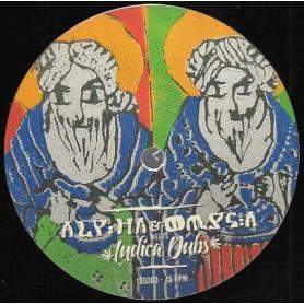 """(12"""") ALPHA & OMEGA MEETS INDICA DUBS FEAT EARL 16 & DAN MAN - JAH GUIDE & PROTECT"""