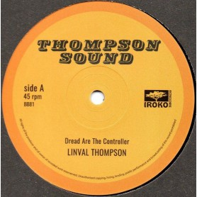 "(12"") LINVAL THOMPSON - DREAD ARE THE CONTROLLER / DUB ARE THE CONTROLLER"