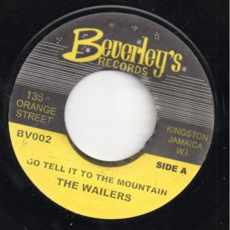 """(7"""") PETER TOSH, THE WAILERS - GO TELL IT TO THE MOUNTAIN / VERSION"""