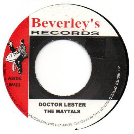 """(7"""") THE MAYTALS - DOCTOR LESTER / THE MAYTALS - SUN MOON AND STARS"""