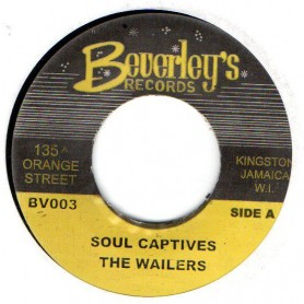 "(7"") THE WAILERS - SOUL CAPTIVES / VERSION"