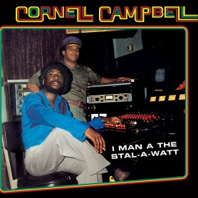 (LP) CORNELL CAMPBELL - I MAN A THE STAL-A-WATT