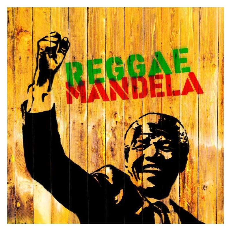 (LP) VARIOUS ARTISTS - REGGAE MANDELA