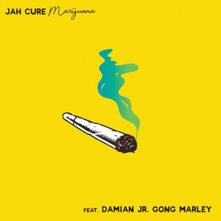 "(7"") JAH CURE FEAT DAMIAN JR GONG MARLEY - MARIJUANA / INSTRUMENTAL"