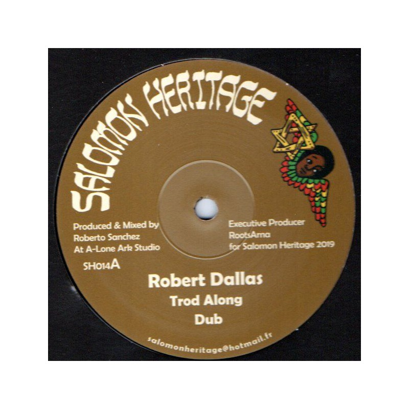 "(12"") ROBERT DALLAS - TROD ALONG / OULDA - SUCH IN A BAD STATE"
