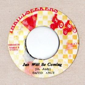 "(7"") DAVID ANDY - JAH WILL BE COMING / JAH DUB THEM"